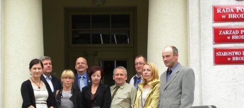 Komitet organizacyjny dożynek powiatowo-gminnych Świedziebnia 2014